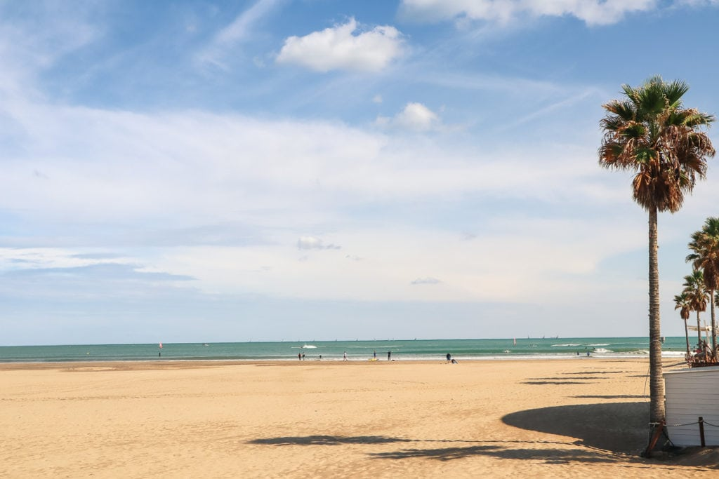 Malvarrosa Beach, Valencia