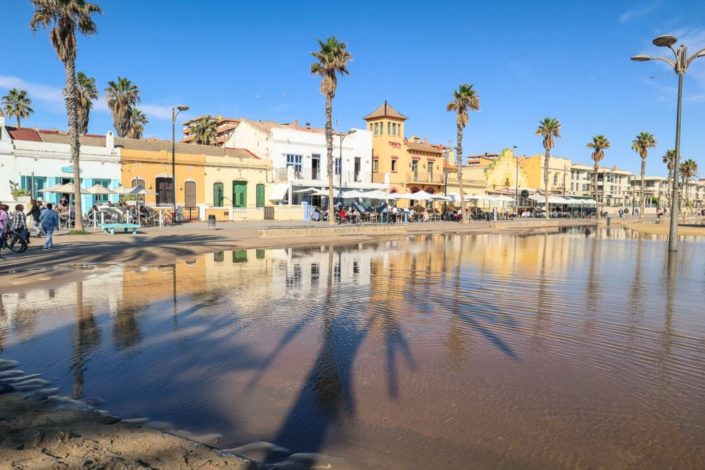 Valencia seafront