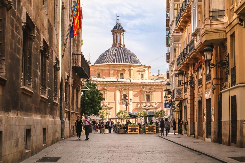 Pretty views in Valencia