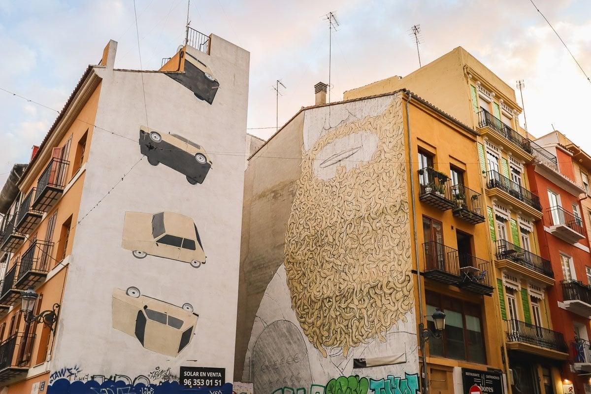 Murals in Valencia