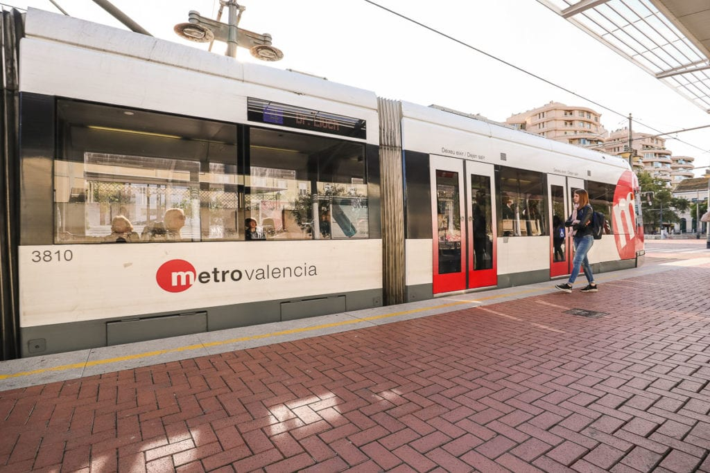 Valencia tram