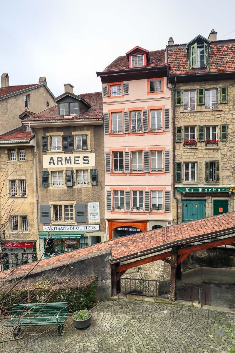 Lausanne city centre