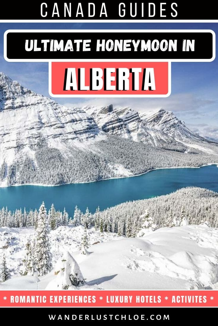 Ultimate honeymoon in Alberta