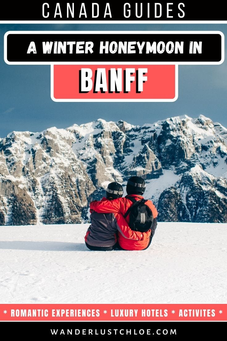 Winter honeymoon in Banff
