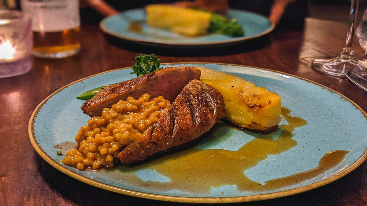 Dinner at White Hart Royal, Moreton in Marsh