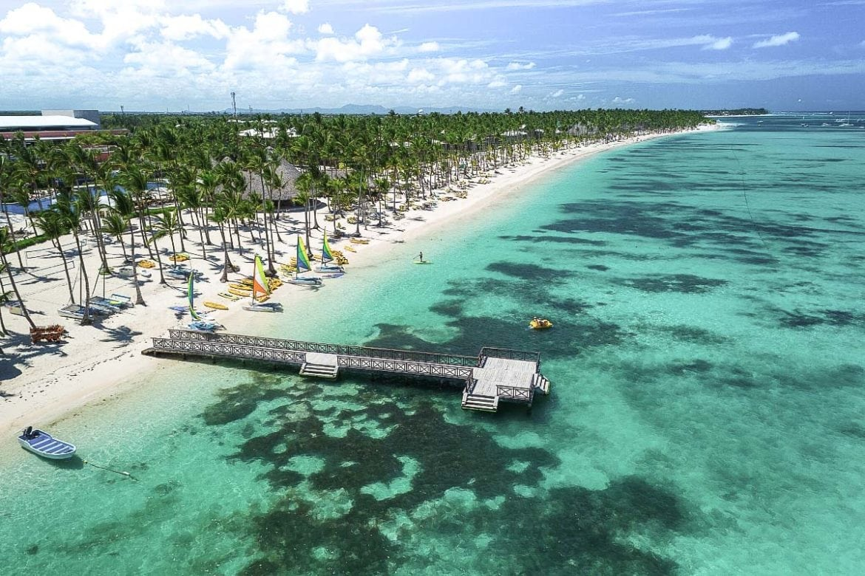 Beautiful beaches in the Dominican Republic