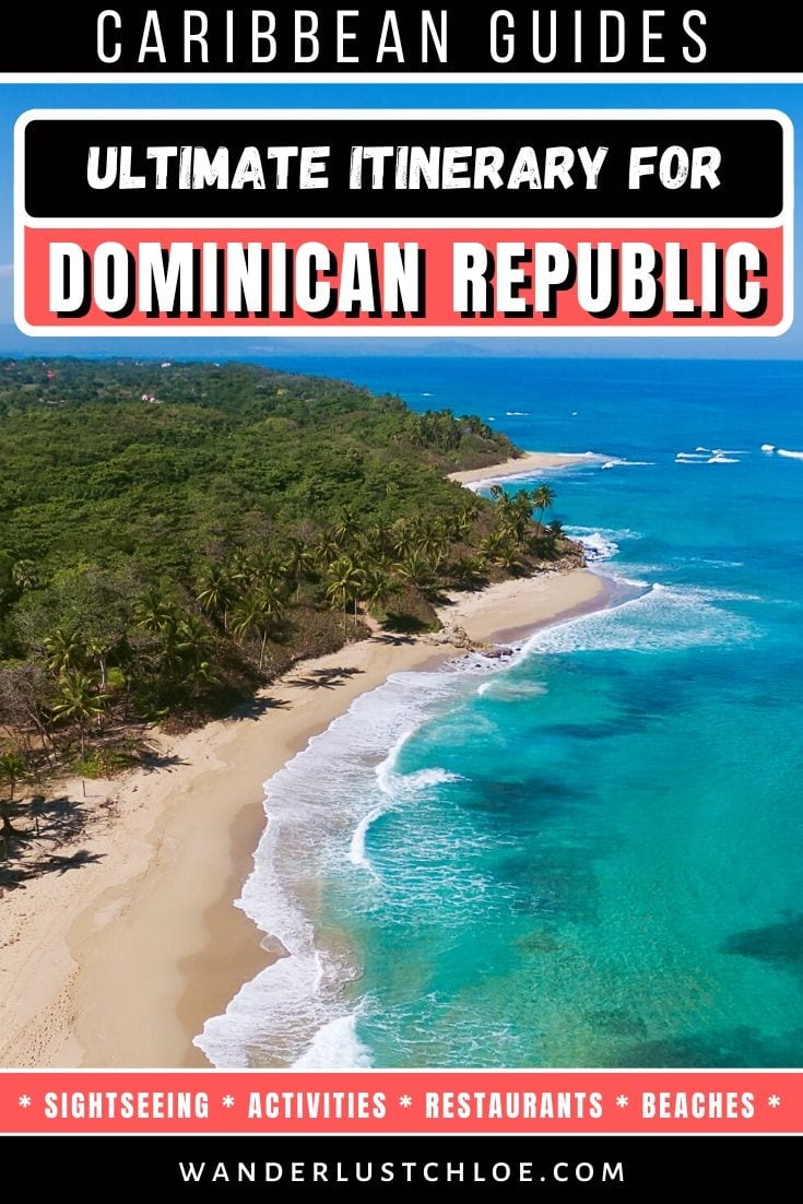 Dominican Republic itinerary