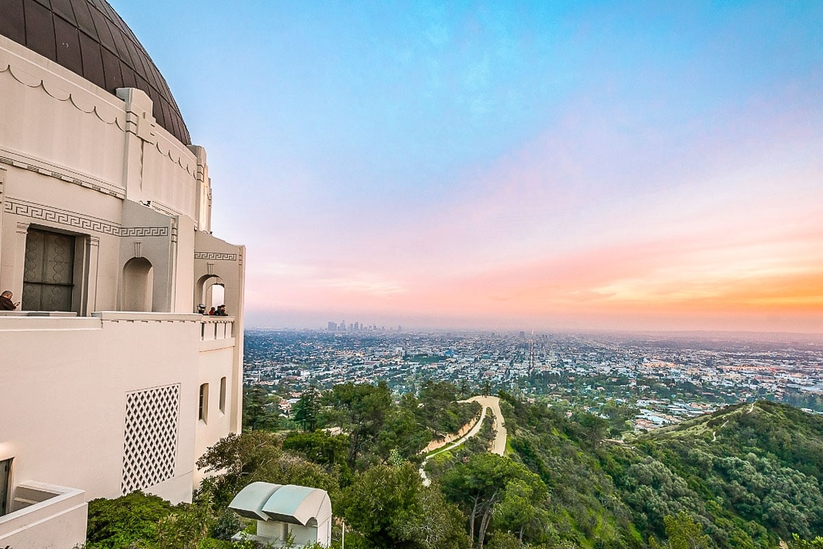 Incredible views from Griffith Observatory, L.A.