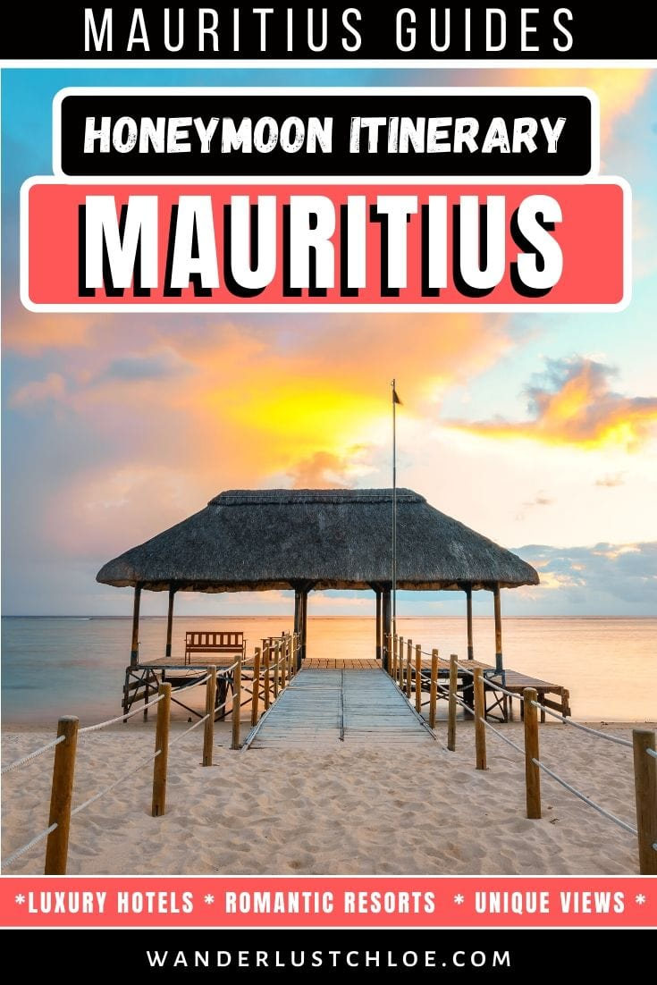 Mauritius honeymoon itinerary