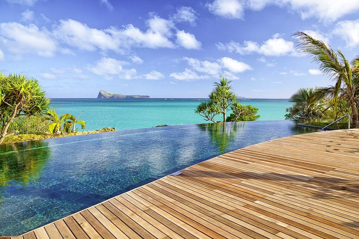 Luxury honeymoon in Mauritius