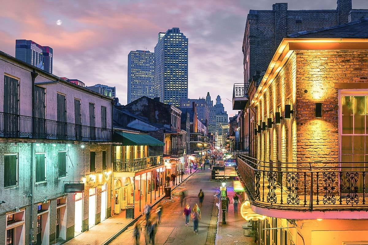 Fast paced New Orleans