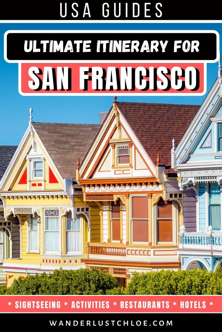 San Francisco itinerary