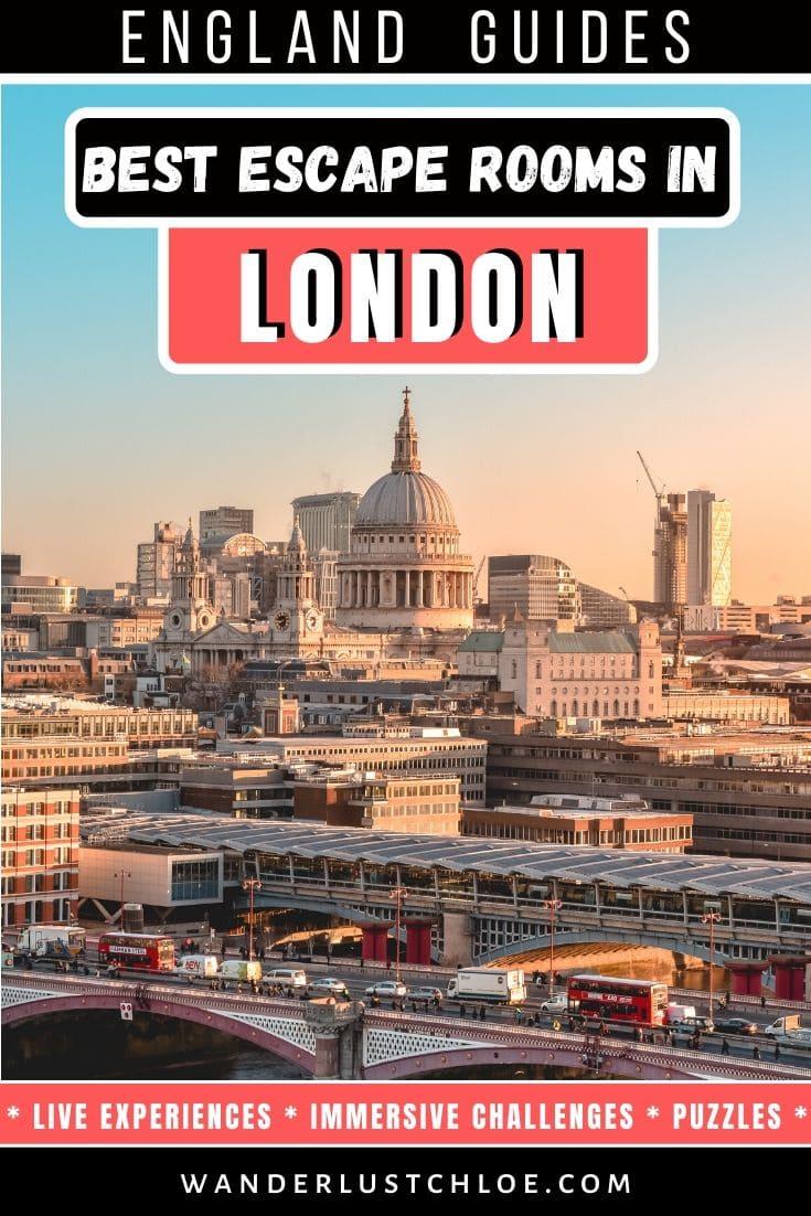 Les meilleures salles d'évasion à Londres