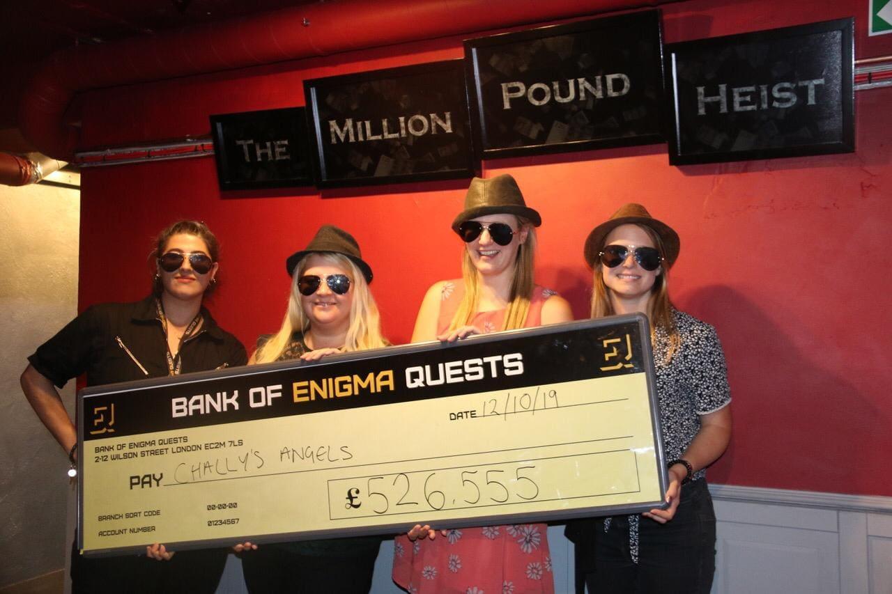 Enigma Quests - The Million Pound Heist