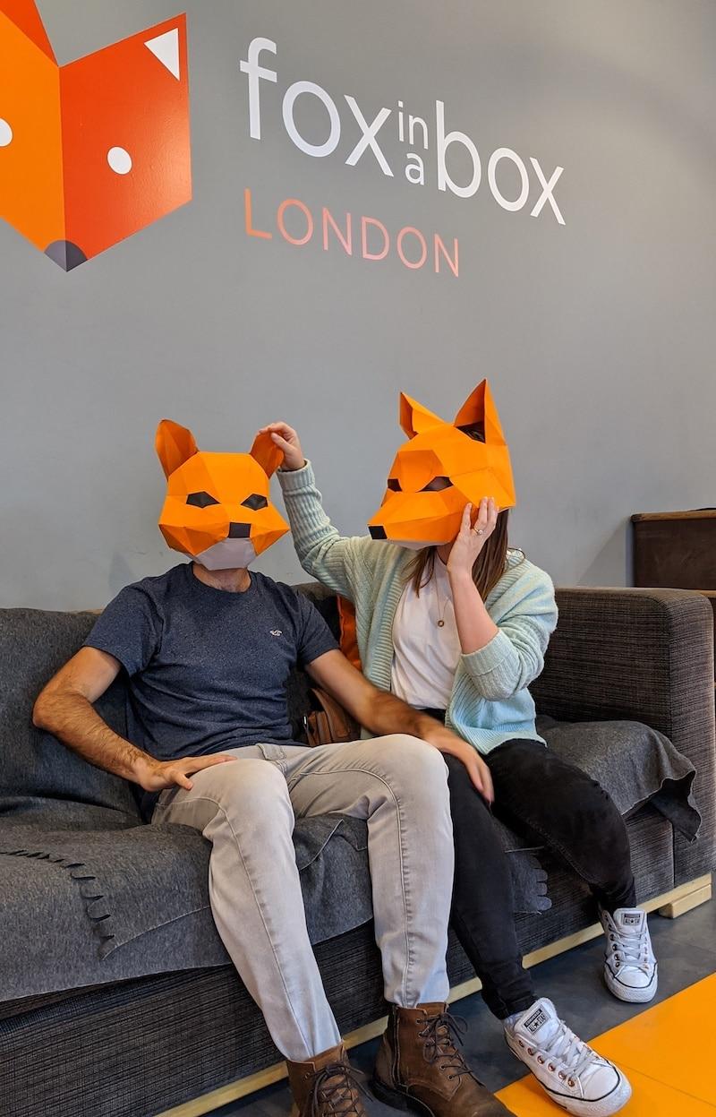 Fox in a Box Escape Room, London
