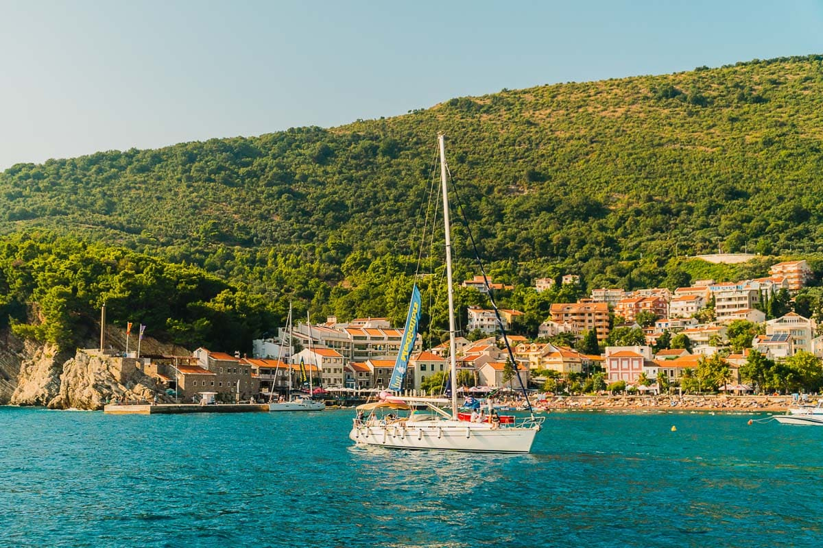 Beautiful scenery in Montenegro
