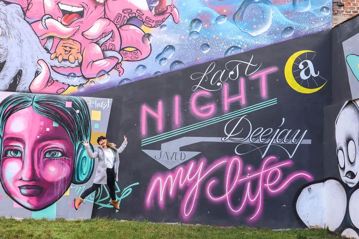 Street art in GoHo, Nuremberg
