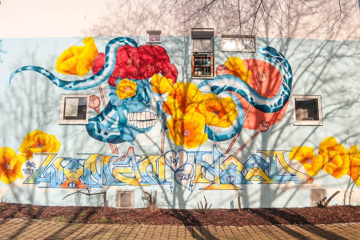 Murals in GoHo