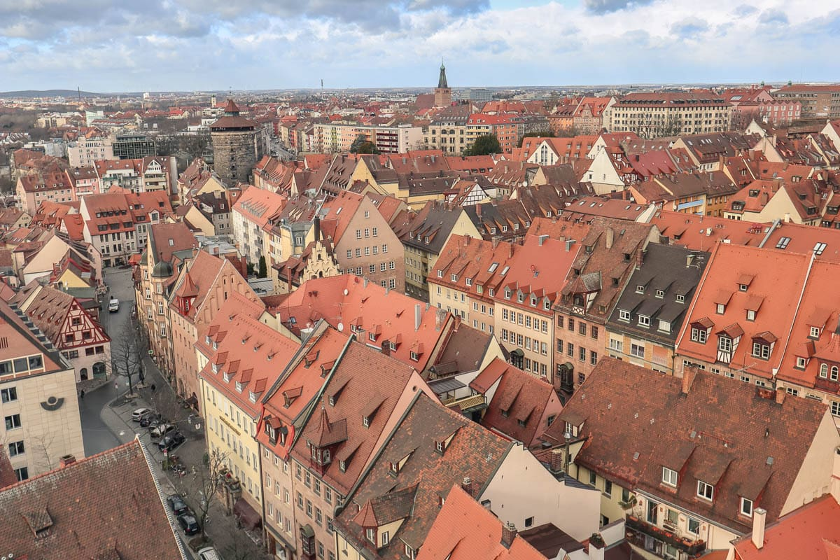Best view of Nuremberg - from tower of St. Sebaldus Church