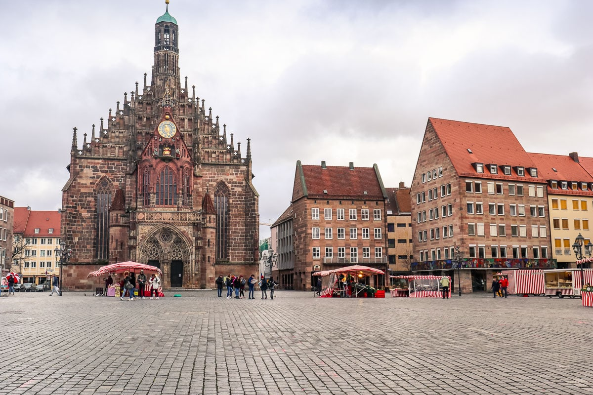 Frauenkirche, Nuremberg - where the Christmas Markets are held