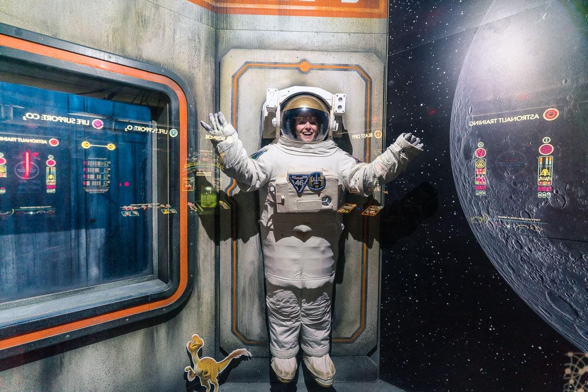 I'm an astronaut!