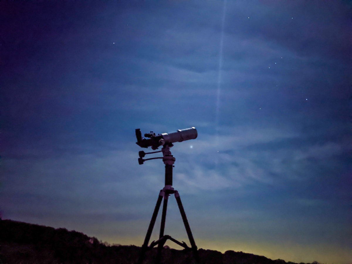 Stargazing on Old Winchester Hill
