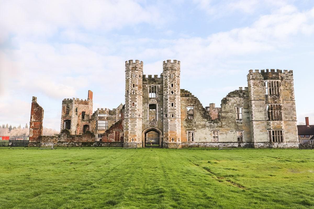 Ruines de Cowdray, Midhurst