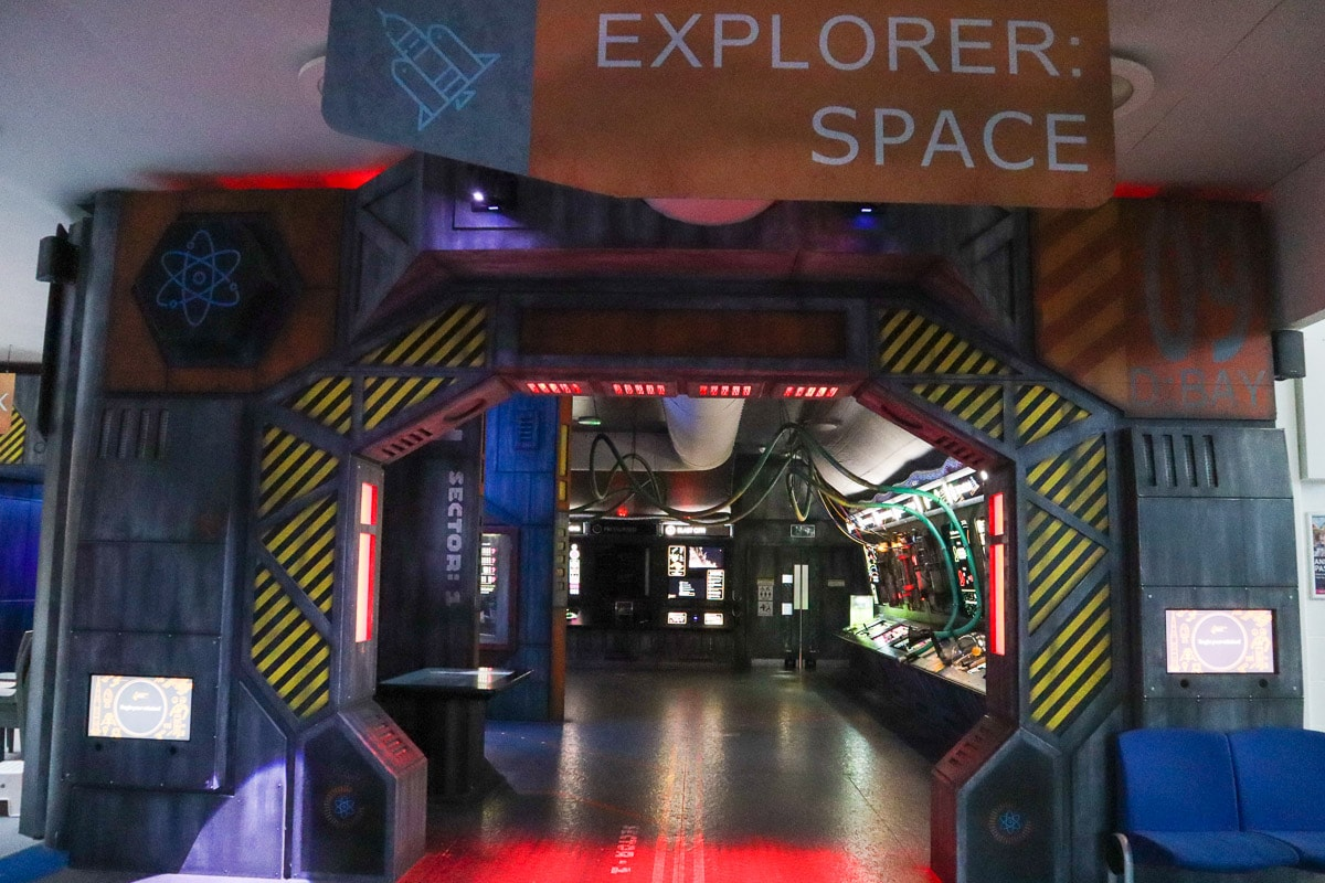 Explorer: Space at Winchester Science Centre and Planetarium