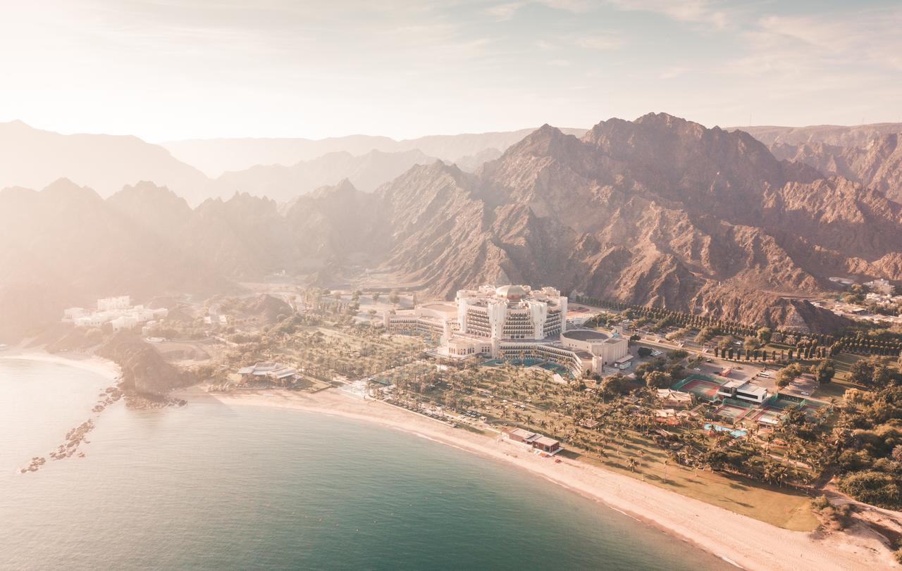 Epic location of the Al Bustan Palace, Muscat