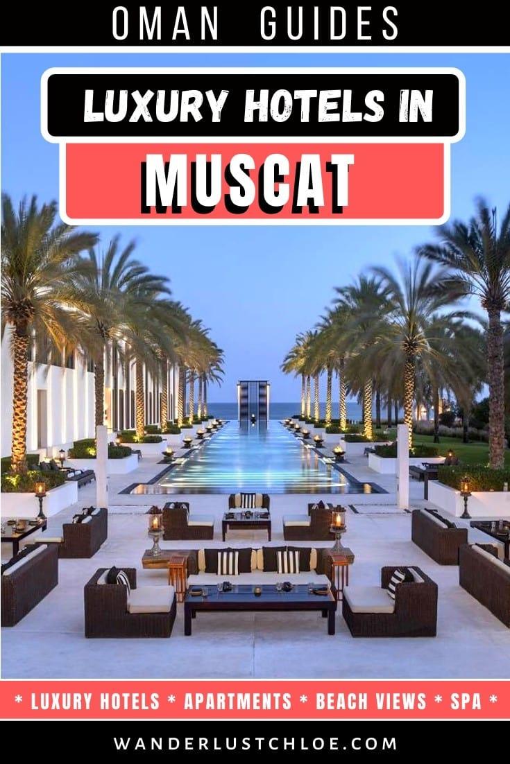 Best Luxury Hotels In Muscat, Oman