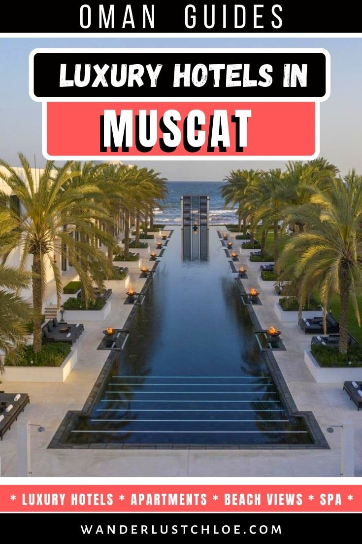 Best Luxury Hotels In Muscat, Oman