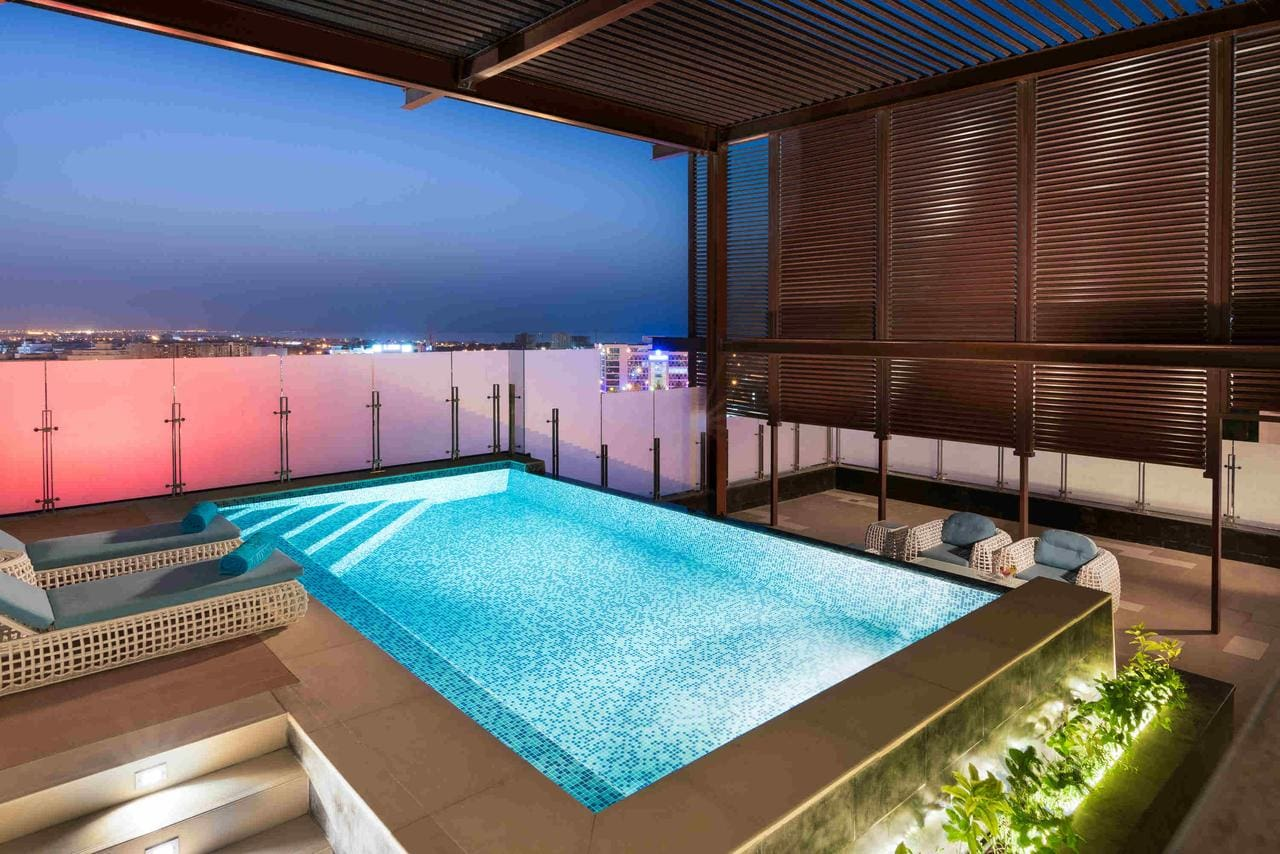Pool at the Grand Millennium Muscat