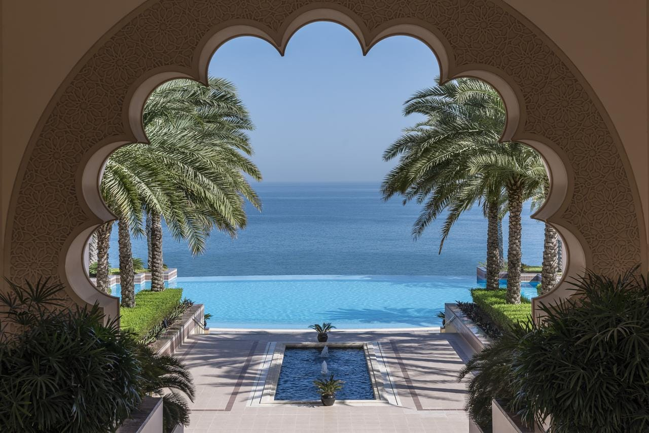 Shangri-La Al Husn - one of the best luxury hotels in Muscat