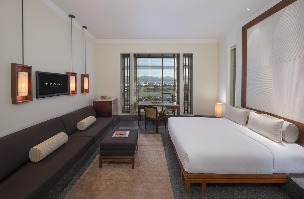 Bedroom at The Chedi Muscat