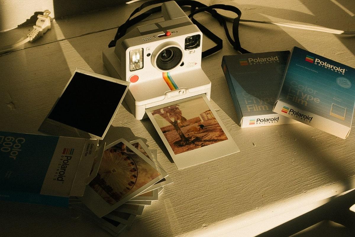 Printing polaroids