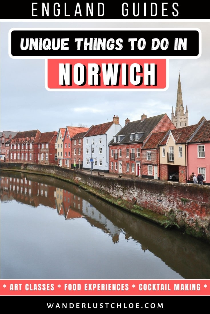 Unique things to do in Norwich