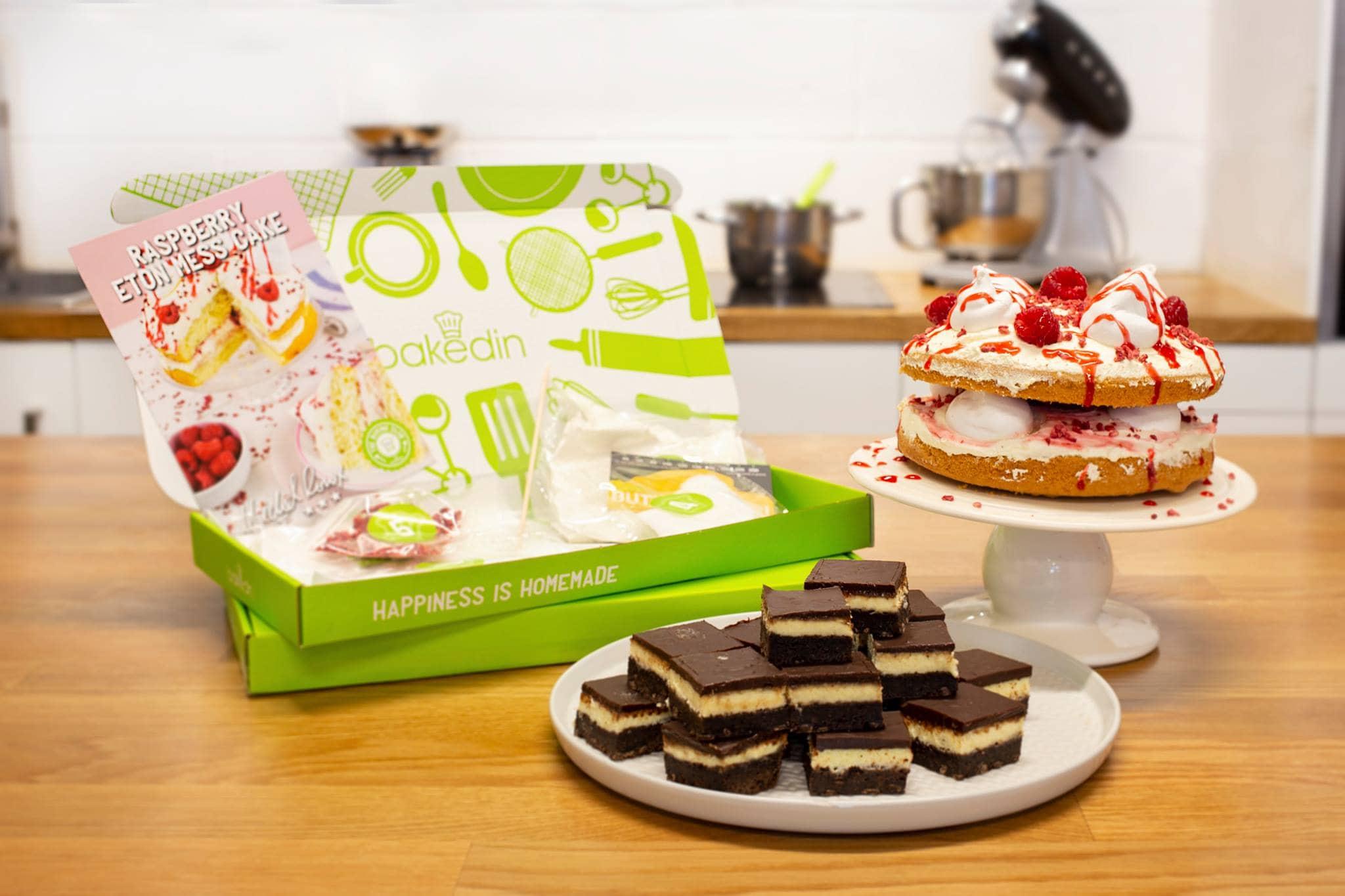 Bakedin Baking Club - Home Baking Subscription Box