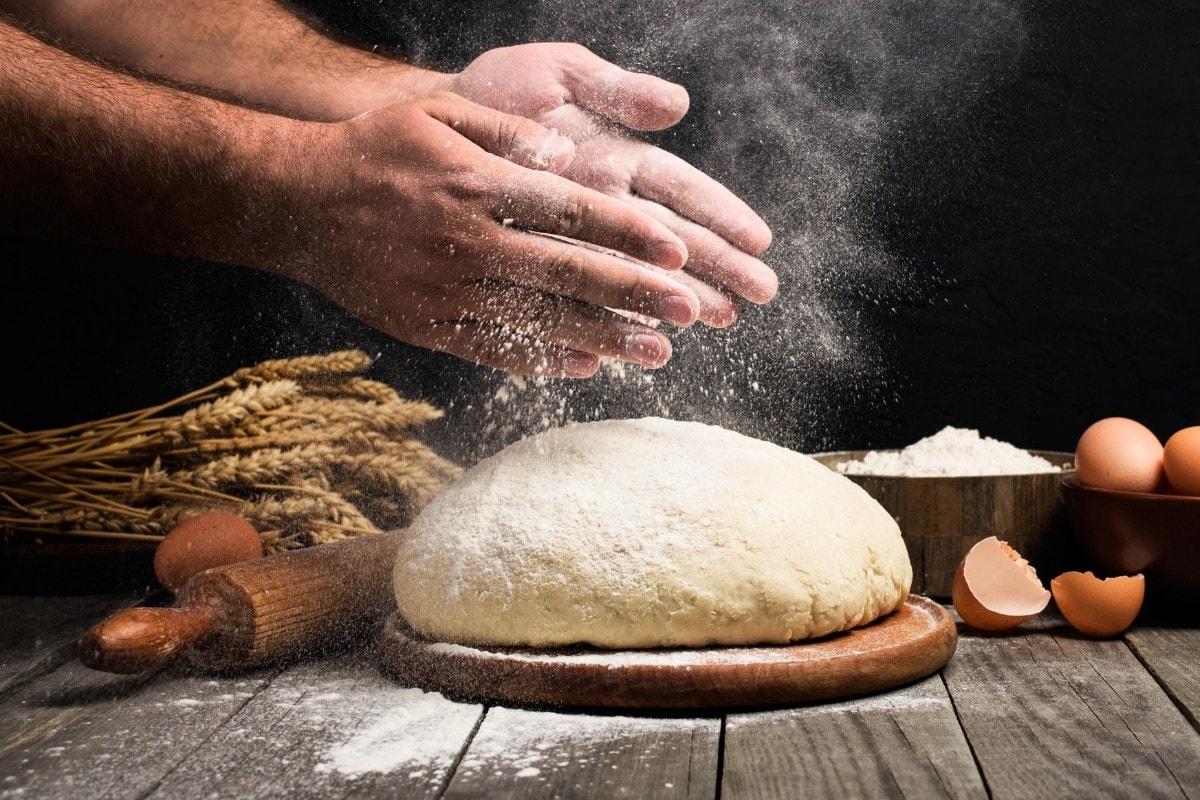 Baking bread using a subscription box