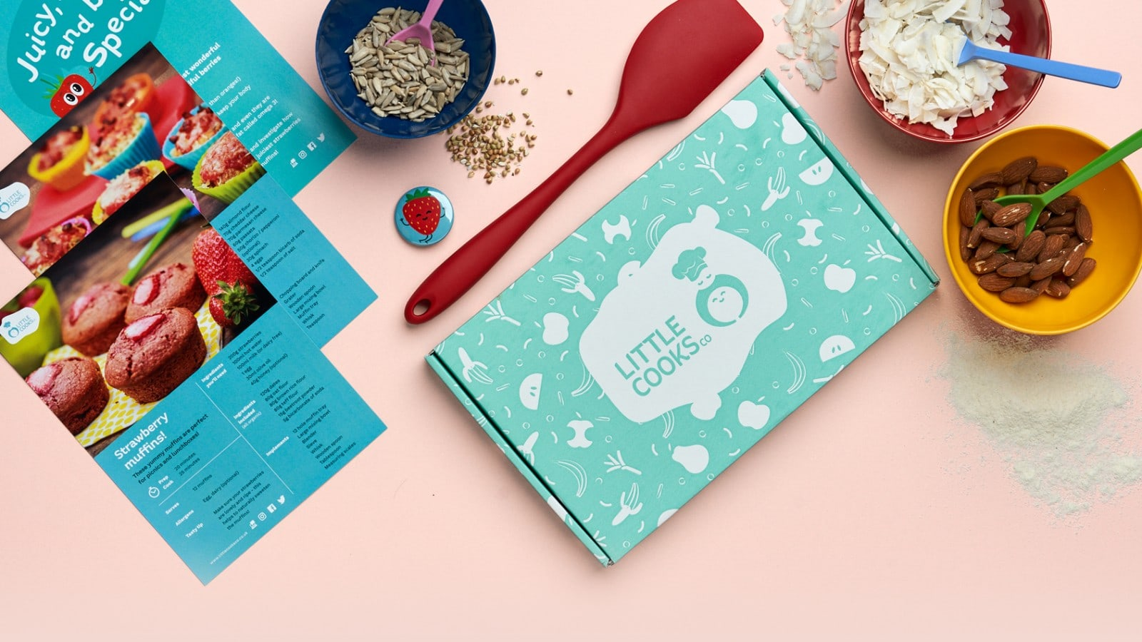 Little Cooks Co - kids cooking subscription box