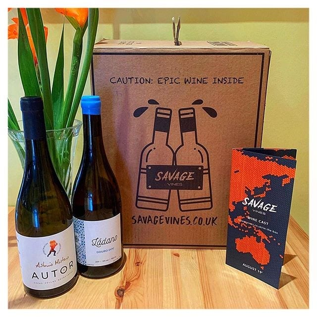 Savage Vines - monthly wine subscription