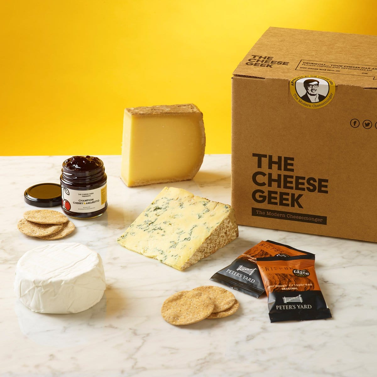 The Cheese Geek - cheese gift subscription box