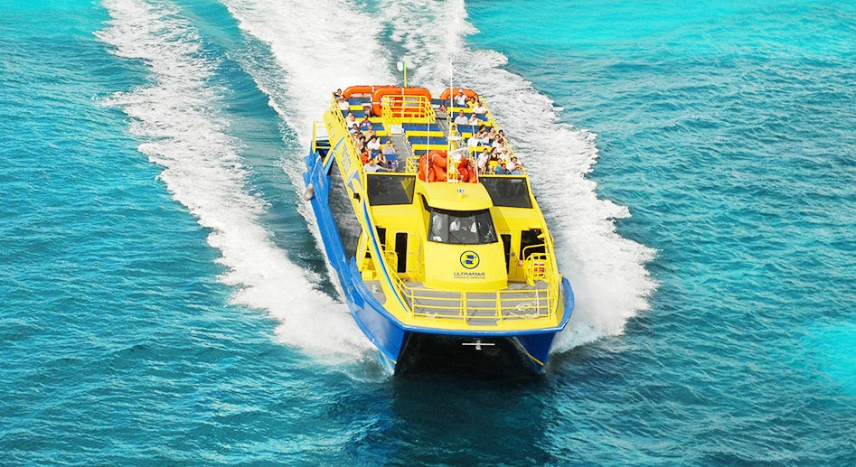 Ultramar Ferry from Cancun to Isla Mujeres