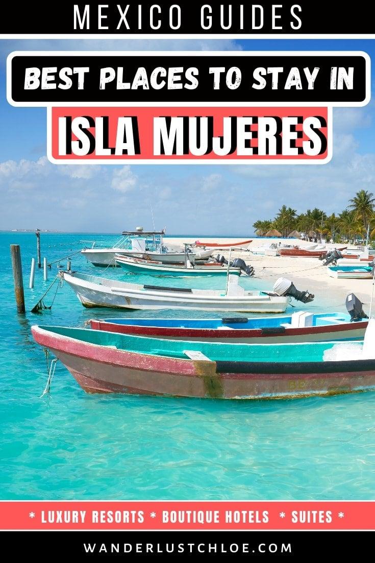 Where to stay in Isla Mujeres, Mexico
