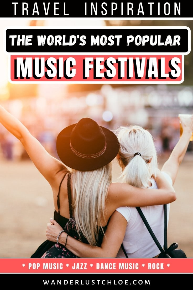 most popular music festivals