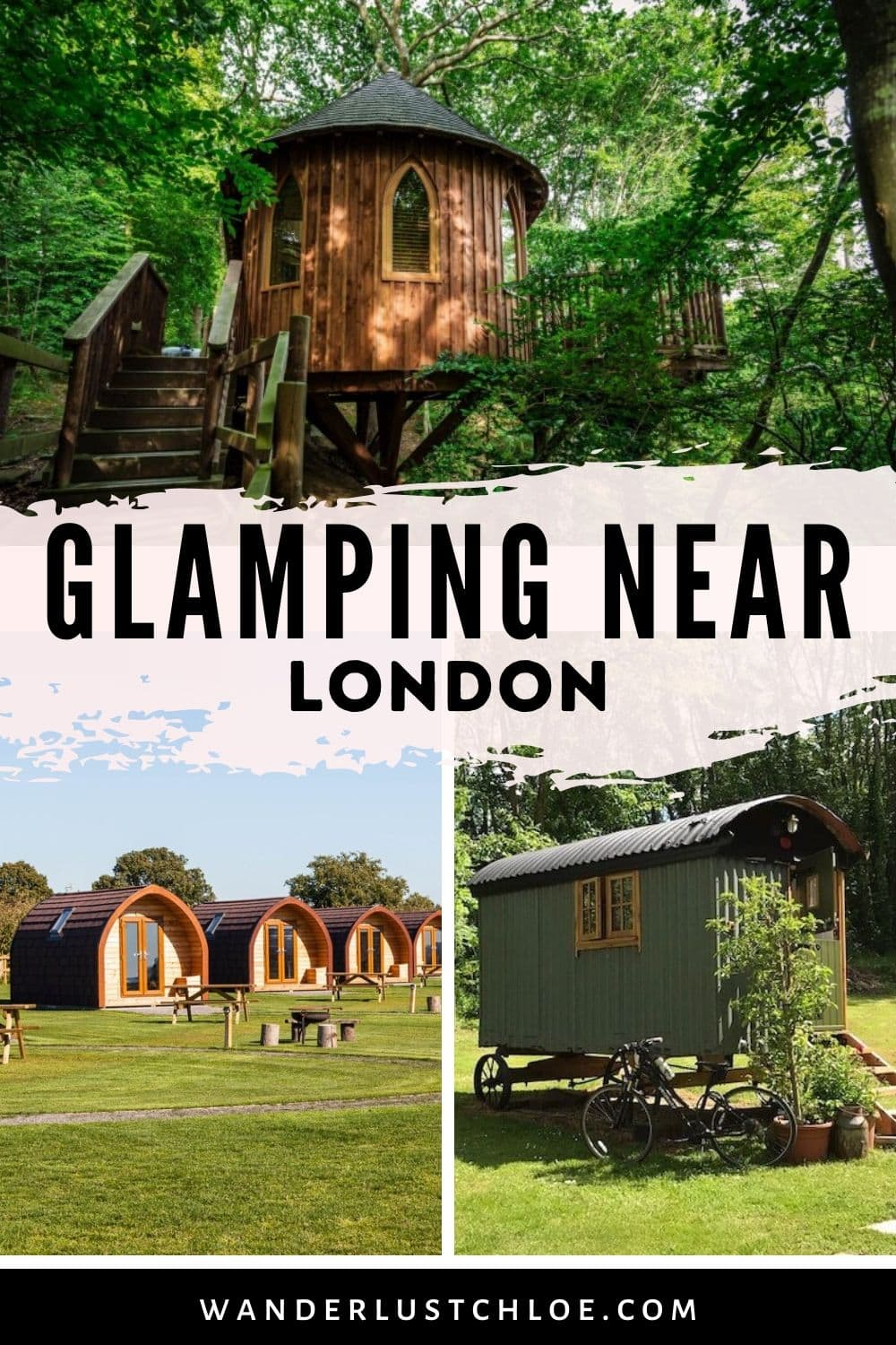 Glamping near London - quirky accommodation near London