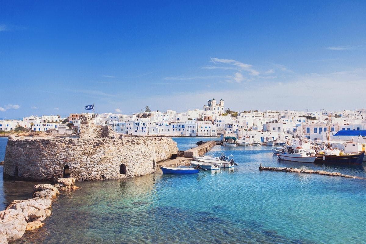 Paros in Greece