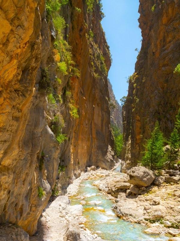 Samaria Gorge National Park, Crete
