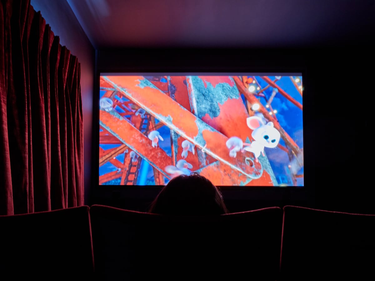The Bluehouse - cinema room