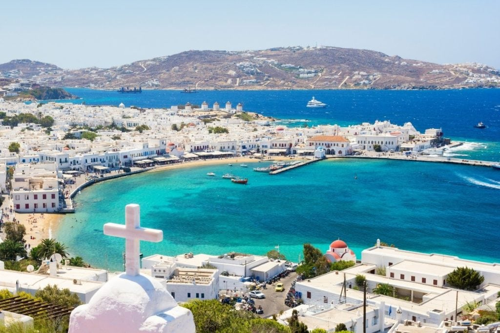 The perfect island for a honeymoon - Mykonos, Greece