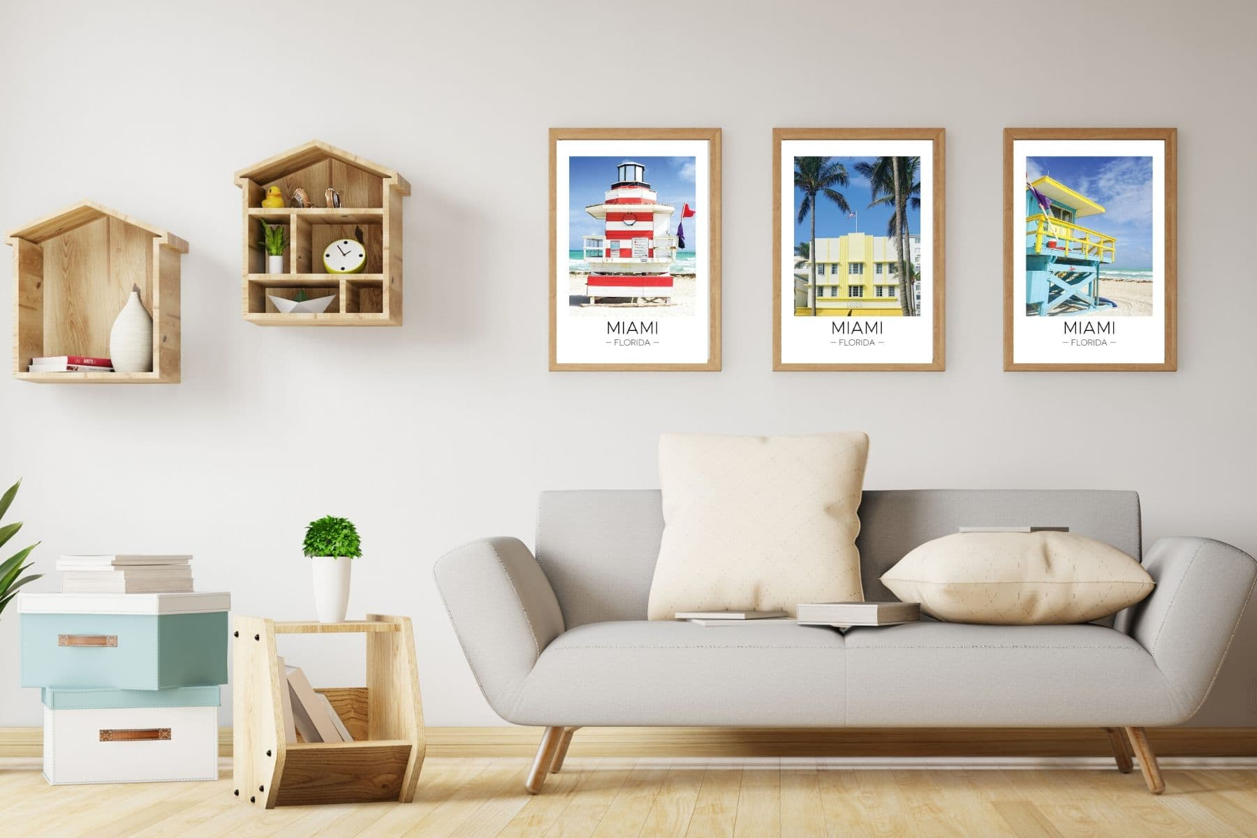 Miami collection in the Travel Print Store